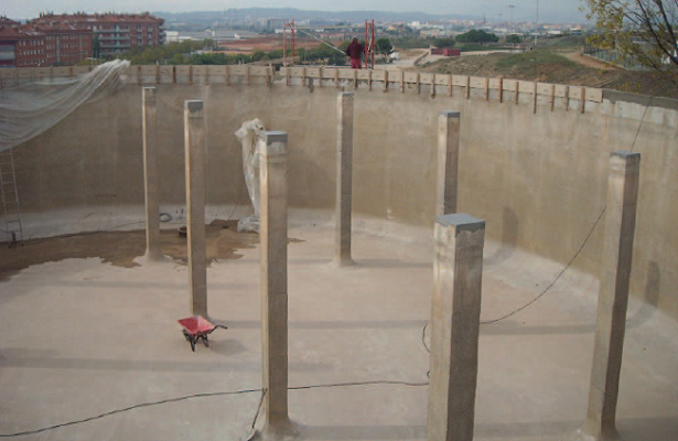 REHABILITATION OF DRINKING WATER TANK <br> Ripollet