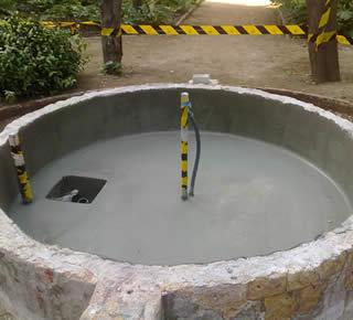 Impermeabilizaci n de piscinas impermeabilizantes imrepol - Impermeabilizantes para piscinas ...