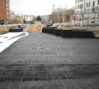 Waterproofing asphalt and polymers Prenotech 4