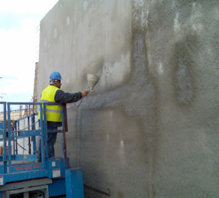 Waterproofing of party walls5