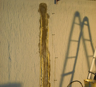 Sealing of joints on party walls4