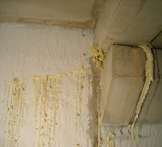 Sealing of joints on party walls5